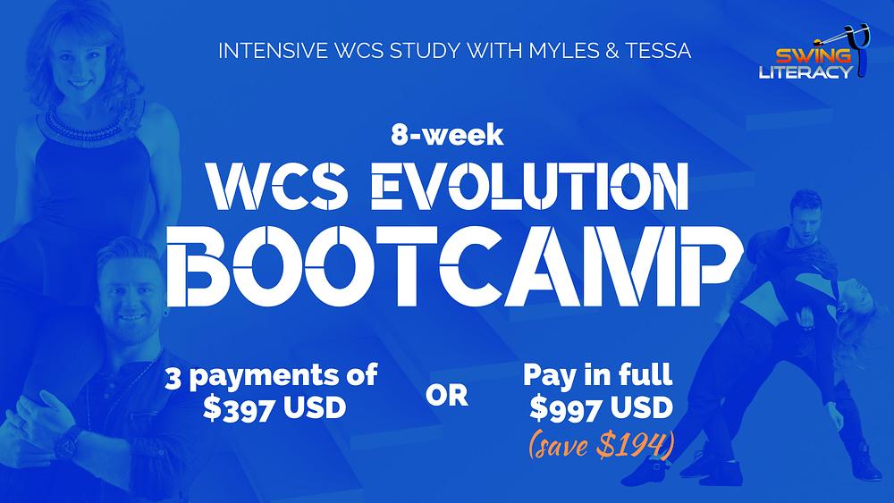 WCS Evolution Bootcamp