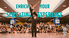 A more in-depth look at all those performances you admire: what to watch for, and how to appreciate what you see. #wcscoachscorner #audienceparticpation #youarepartoftheshow